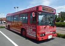 写真:シャトルバス